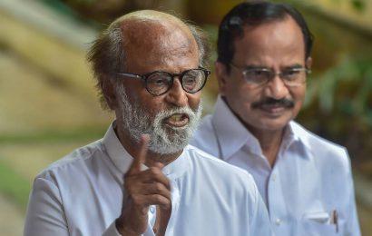 Will not be entering politics, says actor turned politician Rajinikanth