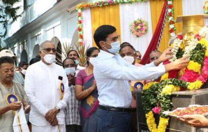 Srinivasa Ramanujan's birthday celebrated