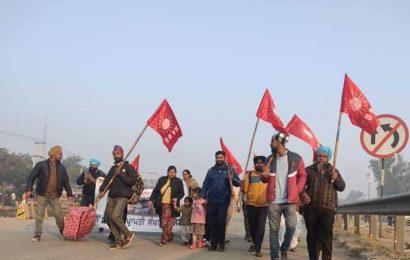 Dalit labour unions joining farmers' stir on Delhi border