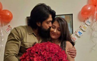 KGF star Yash, wife Radhika Pandit celebrate fourth wedding anniversary, see pic