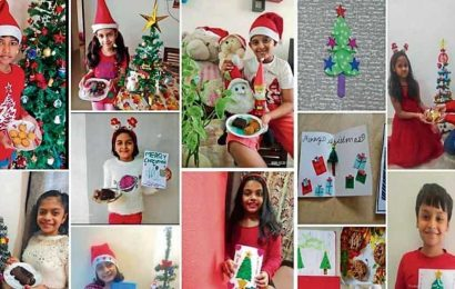 Students go online for Christmas celebrations