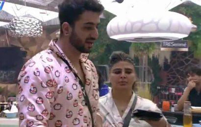Bigg Boss 14 promo: Rakhi Sawant tears apart Rahul Mahajan's dhoti, slammed by contestants
