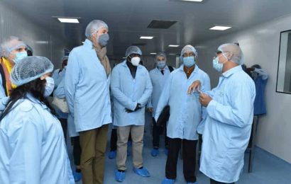 India playing key role against Covid-19, says Bharat Biotech as 64 envoys visit facility