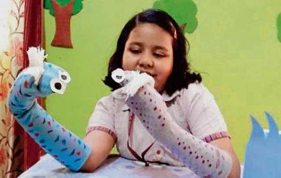 Delhi school events: DAVPS celebrates English Week with zeal