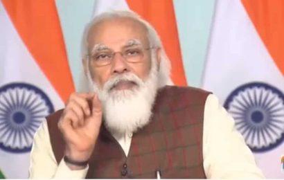 PM Modi inaugurates New Bhaupur-New Khurja stretch of Eastern Dedicated Freight Corridor