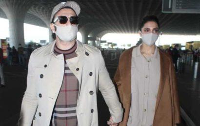 Ranveer Singh and Deepika Padukone take off on romantic New Year getaway. See photos, video