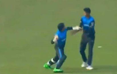 Mushfiqur Rahim loses cool, almost hits teammate in Bangabandhu T20 Cup: WATCH