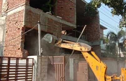 Five illegal constructions demolished in Ludhiana; another sealed