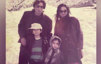 Shraddha Kapoor wishes parents Shakti Kapoor and Shivangi a happy anniversary with rare photos from family album