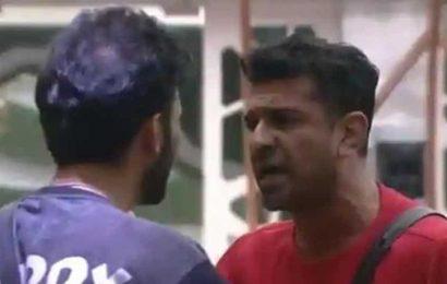Bigg Boss 14: Eijaz Khan mocks Rahul Vaidya for running away from show, calls him 'fattu'