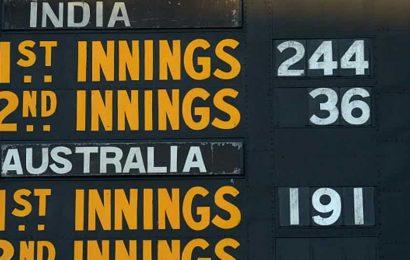 India vs Australia: The lowest ebb
