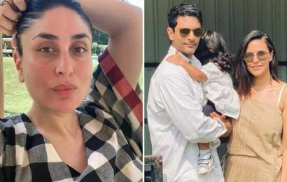 Kareena Kapoor asks Neha Dhupia how old her daughter Mehr would have to be to start dating. See her answer