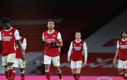 EPL: Aubameyang own goal as struggling Arsenal lose to Burnley