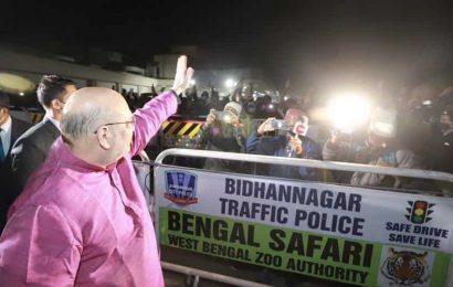 Amit Shah arrives in Kolkata on 2-day visit