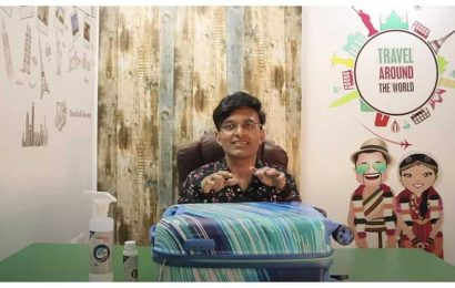 Travel blogger Nivedith Gajapathy turned into Suitcase Gajapathy for a day. Watch the video to know why