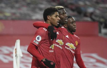 Man United goes 2nd in Premier League; Leeds enjoys 5-0 rout