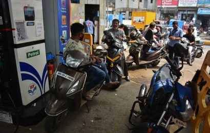 Petrol price up 28 paise, diesel 29 paise a litre; rates touch 2-yr high