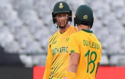 SA vs ENG | Van der Dussen, Du Plessis power South Africa with record stand