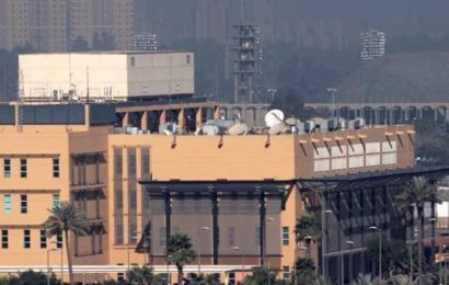 3 rockets target US Embassy in Baghdad: Report