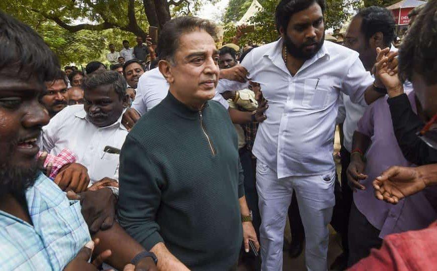 'Disappointed', says Kamal Haasan after Rajinikanth drops political plans