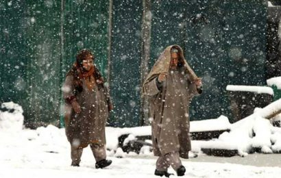 Srinagar gets season's 1st snowfall, more predicted in Ladakh and Kashmir