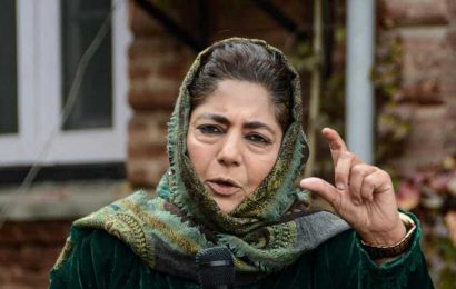 Mehbooba Mufti accuses Centre of disrespecting Constitution