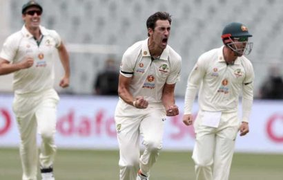 India vs Australia 1st session report:Starc strikes early as India face Adelaide examination in day-night Test