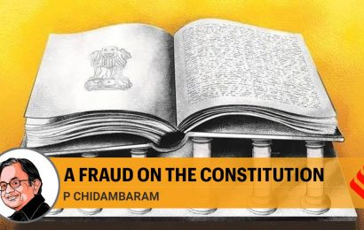 A fraud on the Constitution