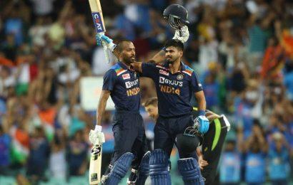 Hardik Pandya, Shikhar Dhawan seal Australia T20I series win for India