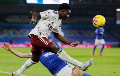 Arsenal must be cautious with Saka, says Arteta
