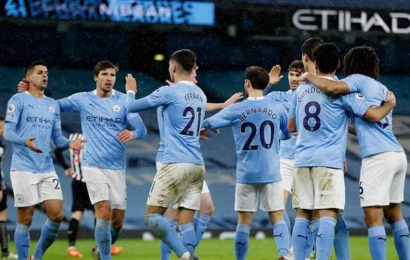 Coronavirus cases at Man City see game at Everton called off