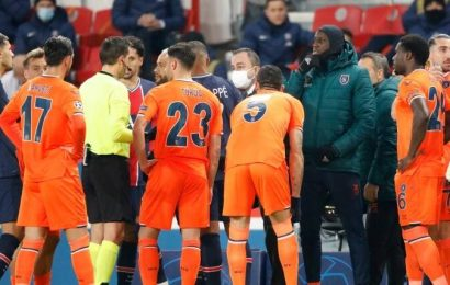 PSG-Basaksehir walkout potential turning point in football's fight against racism