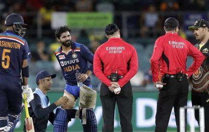 India vs Australia:Ravindra Jadeja ruled out of remainder of T20I series