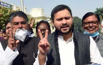 Tejashwi Yadav warn of action against saboteurs; predicts early election in Bihar