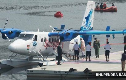 Ahmedabad's water hangar to improve seaplane services, allow local maintenance