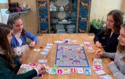 Coronavirus-themed board game by four German sisters sells out for Christmas