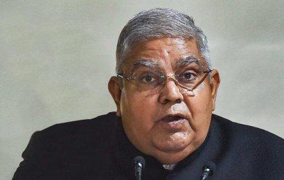 Governor Dhankhar writes to Bengal CM about Suvendu Adikari's fear