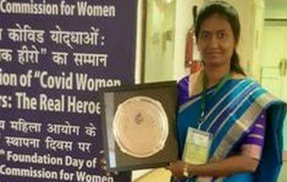 'Woman COVID Warrior Award' for Vizianagaram SP