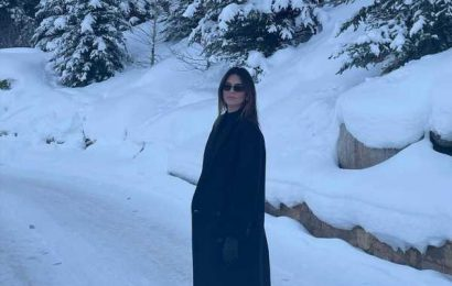 Kendall Jenner's snowy 2021 celebration