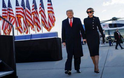 PHOTOS: Exit, Donald Trump