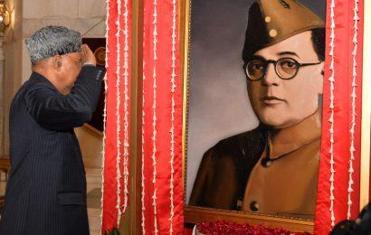Row erupts over Netaji portrait at Rashtrapati Bhavan