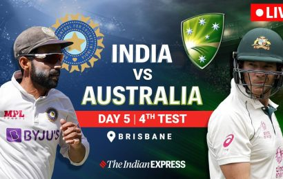 India vs Australia 4th Test, Day 5 Live Cricket Score: Huge blow for India, Rohit Sharma departs