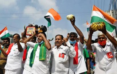 Members of SDPI, farmers' association take out rallies in Coimbatore