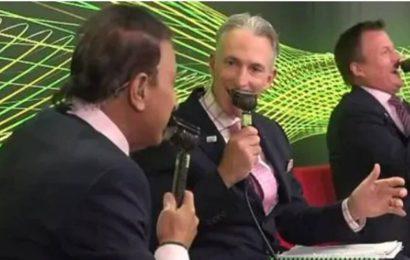 James Brayshaw mistakes fellow commentator Sunil Gavaskar for Sachin Tendulkar