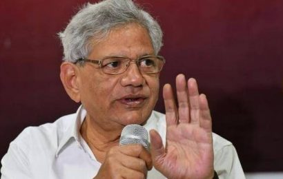 Delhi Police connived with splinter group: Yechury