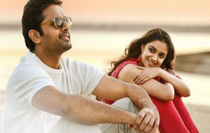 Nithiin, Keerthy Suresh's 'Rang De' in March