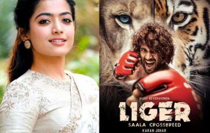 Rashmika Mandanna says to her sweet beasts Vijay Deverakonda: So so proud