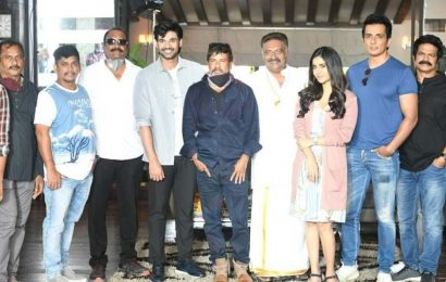 Sonu Sood turned out to be the second hero in Alludu Adhurs