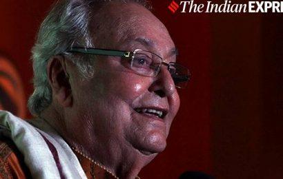 Exhibition of Soumitra Chatterjee's work at Kolkata International Film Festival