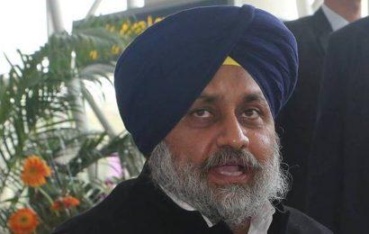 CM Amarinder Singh taking orders from Centre: Sukhbir Badal